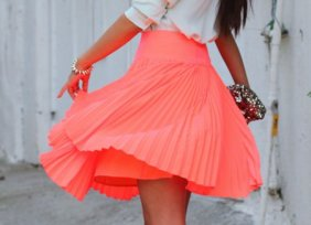 falda-color-coral