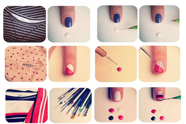 Haz tu propio pincel fino para decorar tus u as 4littledots for Como pintarse las unas con dibujos