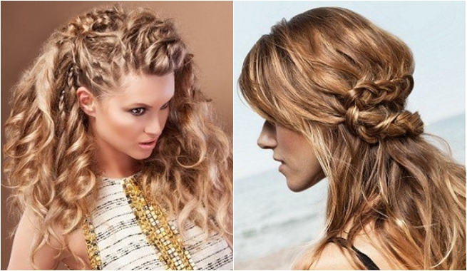 Peinados alborotados para mujeres