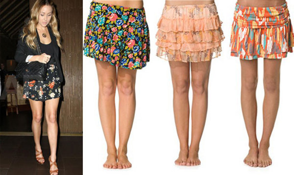 Este tipo de faldas son muy cómodas ya que son elastizadas y por ende ...