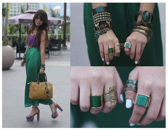 Enero 2013 4littledots - Colores que combinan con el verde botella ...