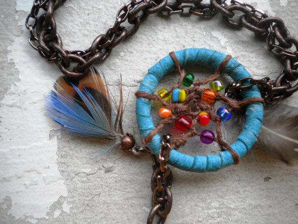 Atrapasue os el accesorio infaltable para este verano - Manualidades con plumas ...