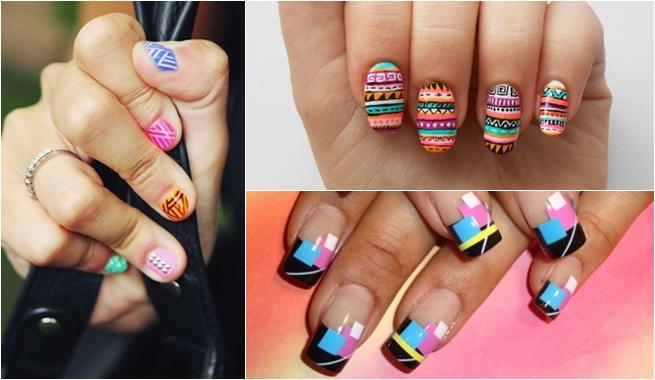 Ideas para pintar tu uñas con dibujos y animal print | 4LittleDots
