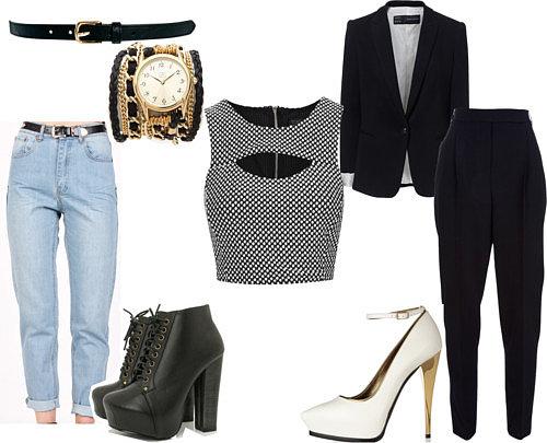 Bajo falda negra en tienda de ropa parte 1 - 1 part 7